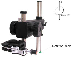 XK-3 - Tool Stand with precise rotation and up/down Z-axis movement
